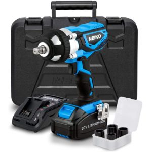 Neiko 10878A 20 V Lithium-Ion Cordless Impact Wrench