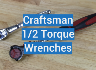 5 Craftsman 1/2 Torque Wrenches