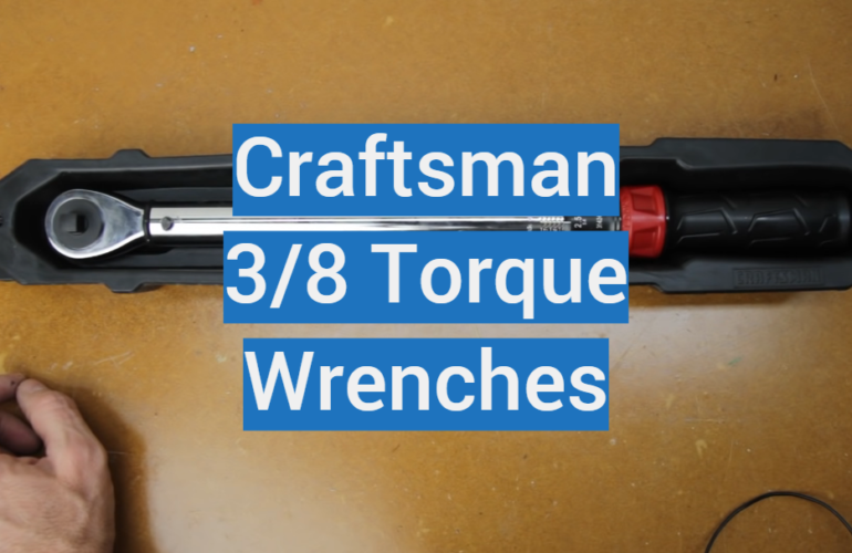 5 Craftsman 3/8 Torque Wrenches