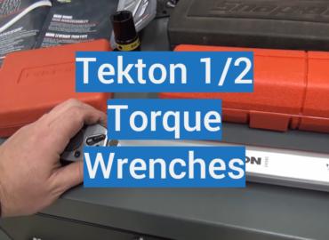 Tekton 12 Torque Wrenches