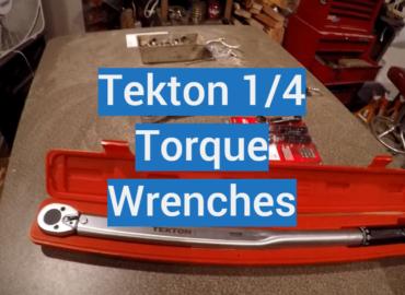 Tekton 1/4 Torque Wrenches