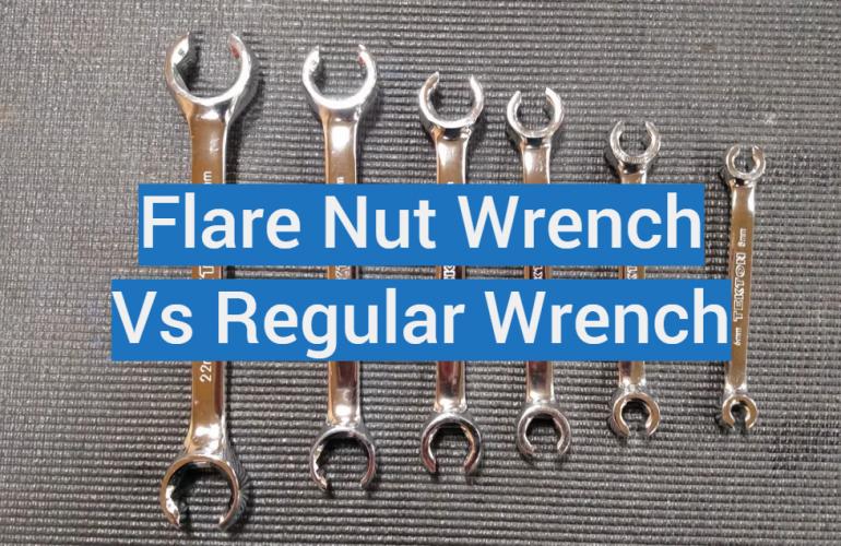 Flare Nut Wrench vs Regular Wrench