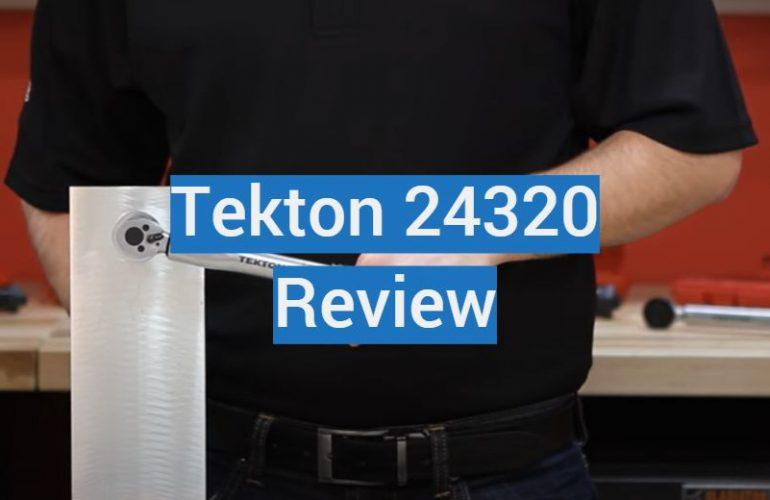 Tekton 24320 Review